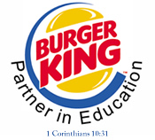 Burger King Partner in Education